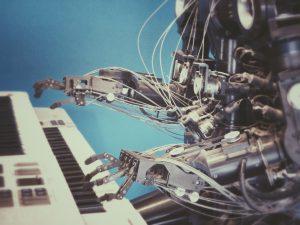 キ-ボ-ドとロボット