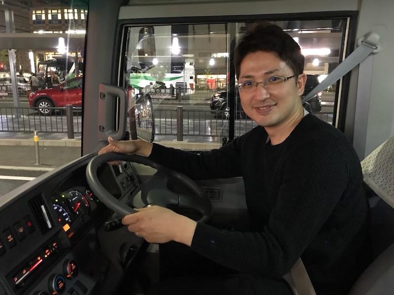 バスの運転手もします。